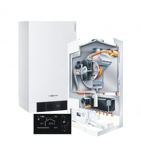 Centrala Termica Viessmann Vitodens 200 80 kW incalzire